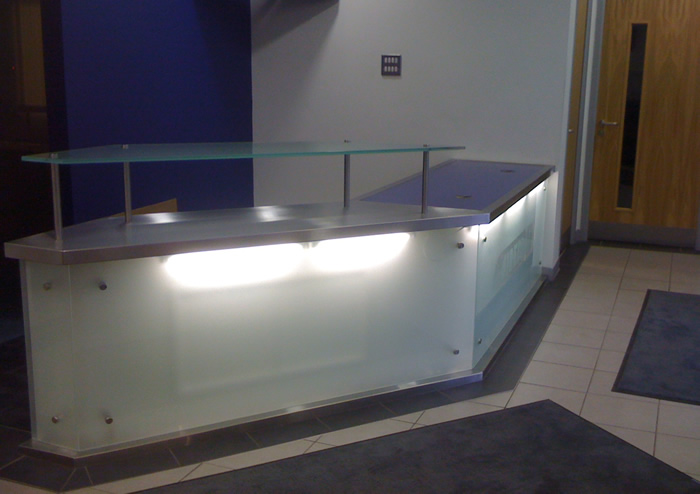 bespoke office desks. contact us for custom made reception desks and other bespoke office